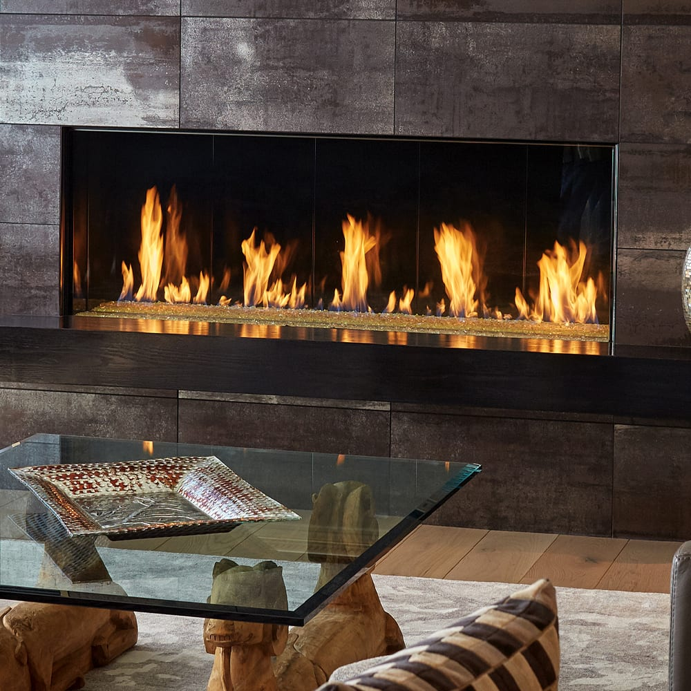 Wood Fireflames and fireplaces